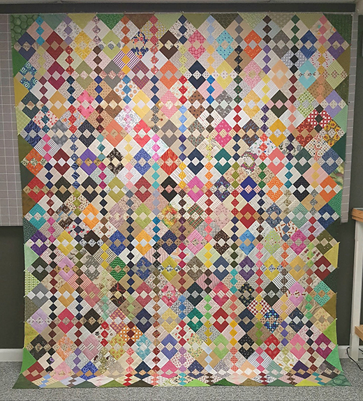 Carolina Chain Quilt Free Pattern