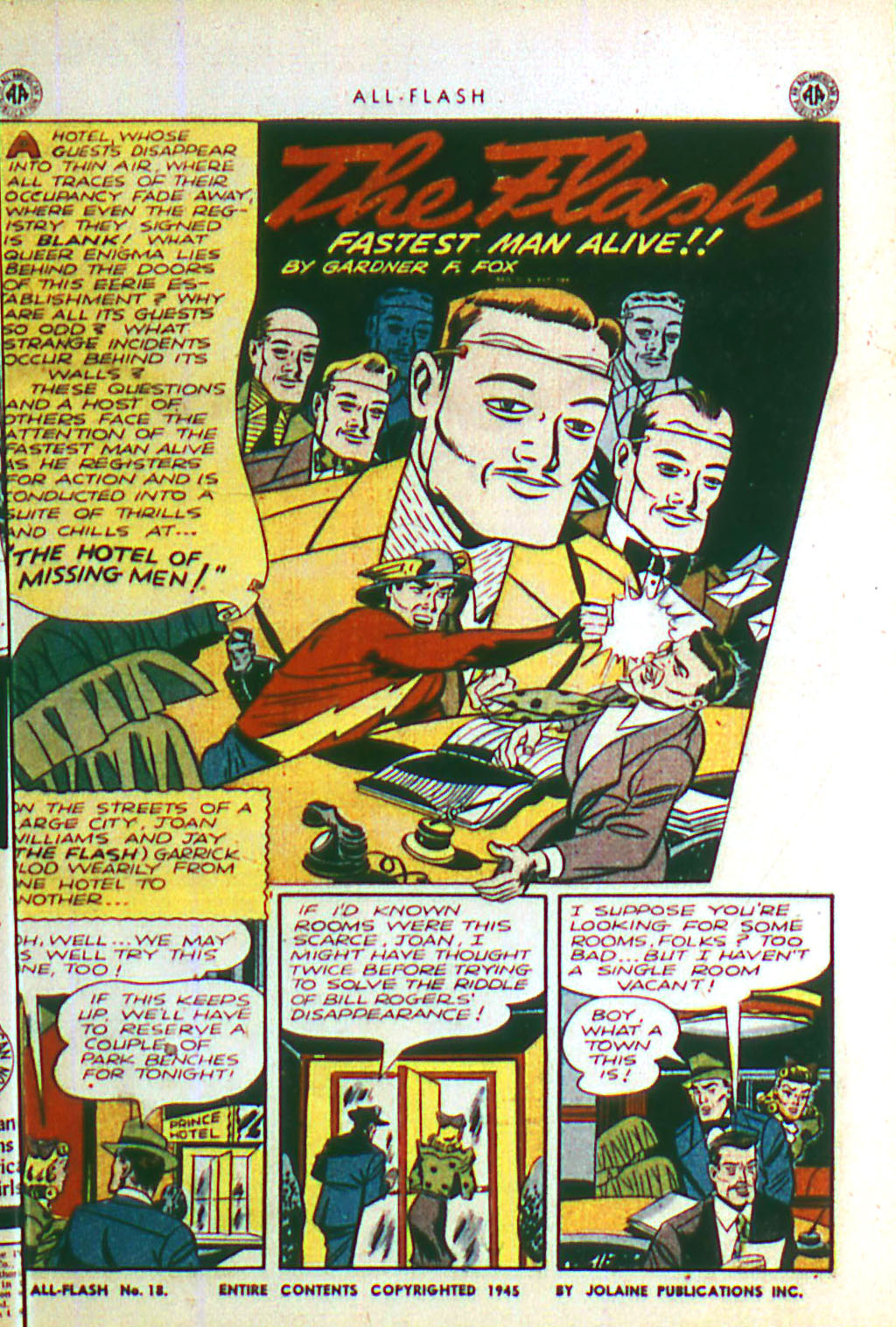 Read online All-Flash comic -  Issue #18 - 3