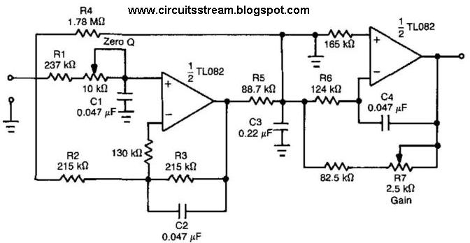 Low Pass Filter Circuit Diagram