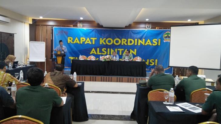 Rapat Kordinasi Alsintan Tingkat Provinsi Jawa Tengah