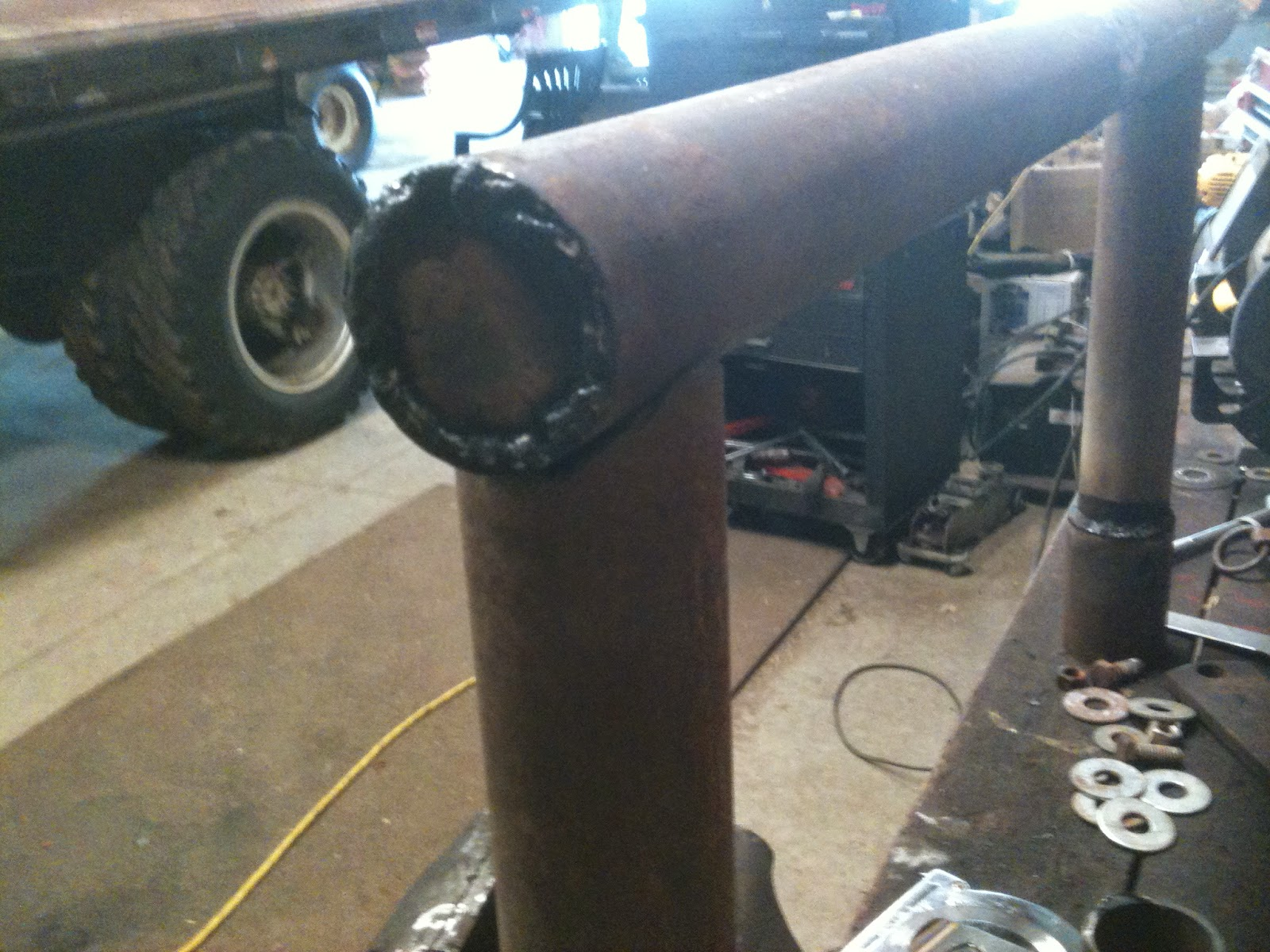 ready to weld together