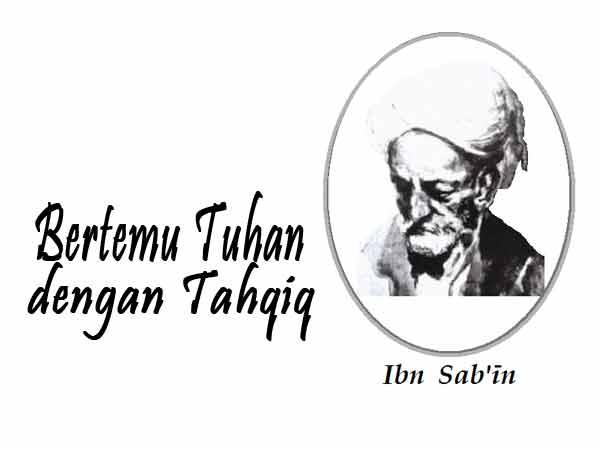 Ibn Sab'in Filsafat Ilmu Tahqiq