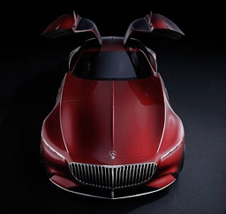 eksterior mercedes maybach vision 6