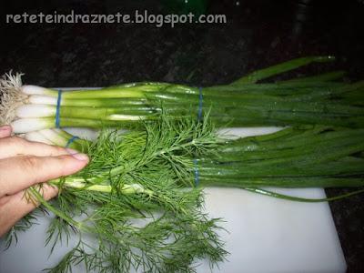 Spring Onion & Dill Salad - Vegan & Gluten-Free Recipe