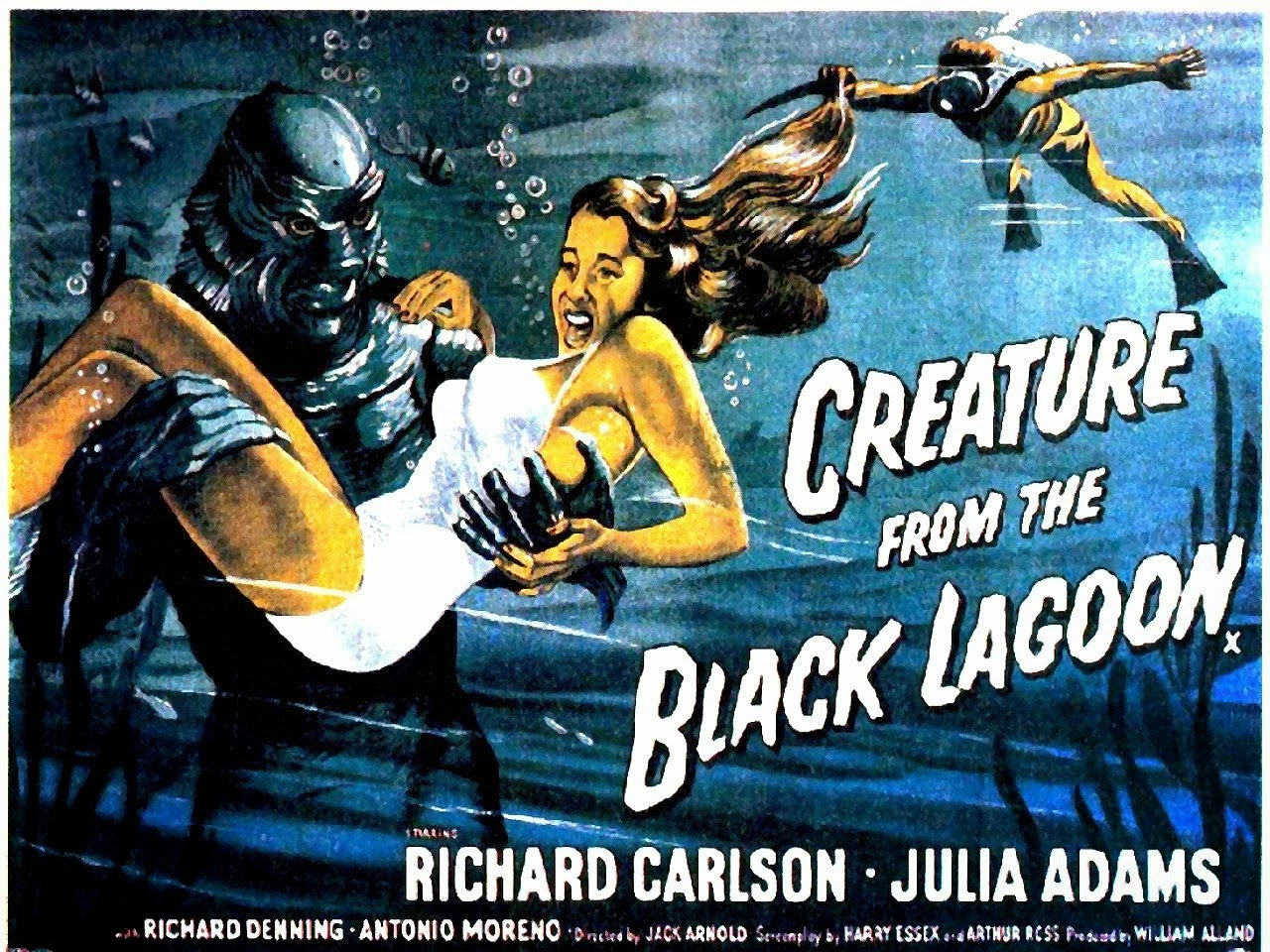 sci-fi film fiesta: creature from the black lagoon (1954)