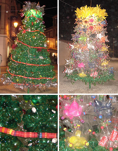 How To Recycle Recycled Towering Christmas Trees