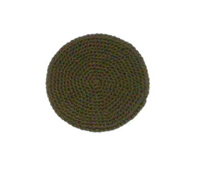 Hamburger Potholder in Crochet