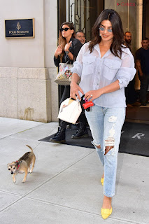 Priyanka Chopra in lovely Denim jeans and Transparent Top   .xyz Exclusive 007.jpg