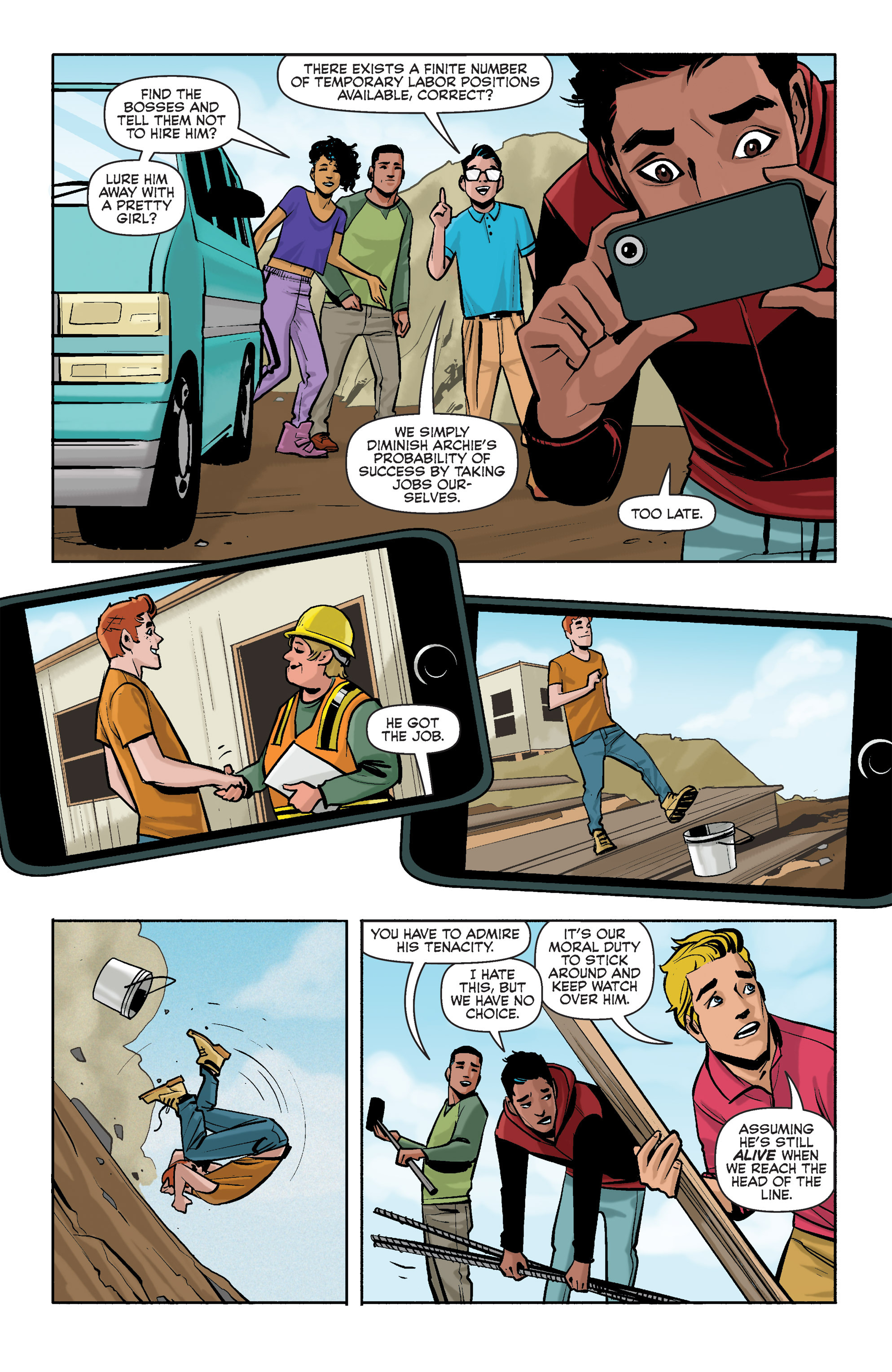 Read online Archie (2015) comic -  Issue #2 - 14