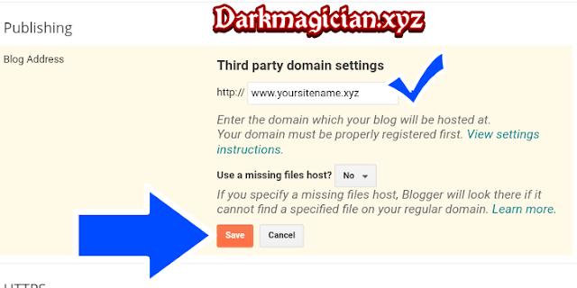 Blogger Course Domain Configuration Part 3 হতে চান নাকি আপনি ও একটি Website এর Owner 24