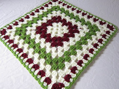 granny square, crochet, Mom's Afghan