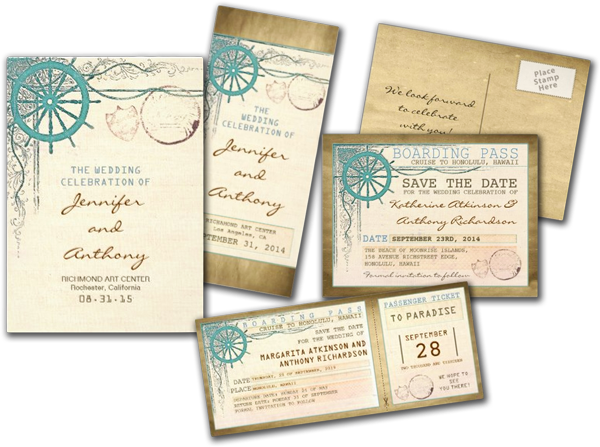 Wedding Invitation Png: Wedding Cards And Gifts: Nautical Wedding Invitations