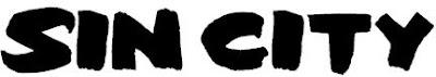 Tipografía de Sin City