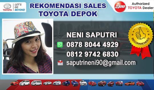 Rekomendasi Sales Toyota Cimanggis Depok Jawa Barat