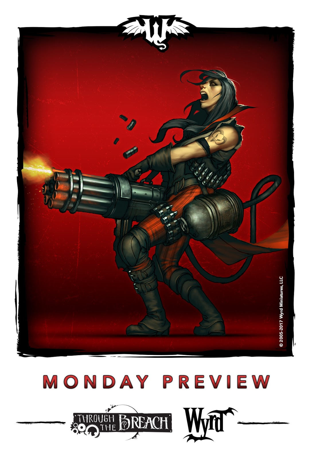 GMorts Chaotica: Wyrd Games - Monday Preview
