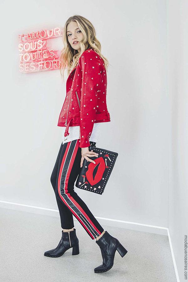 Moda otoño invierno 2018 mujer. Pantalones de moda otoño invierno 2018.