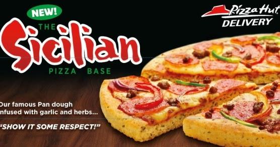 Around The World Pizza Hut Uk Adds Sicilian Pan Option Brand Eating
