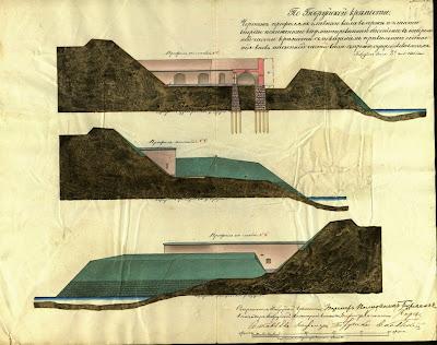 Фиксационные чертежи Бобруйской крепости