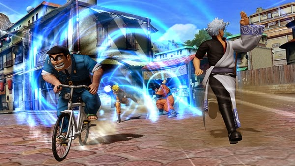 J-Stars Victory Vs, Shounen, Jump, Weekly Shounen Jump, Anime collaboration, games, PS3, Playable Characters, Screenshot, Gintoki, Kankichi
