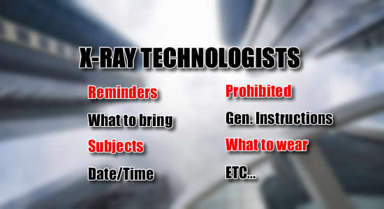 X-ray Technologists Licensure Exam July 2018: List of Reminders, What to Bring, Date, Time Subjects of Exam