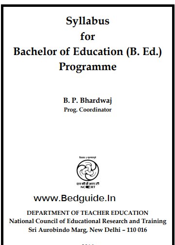 Syllabus of Bachelor of Education (B.ed)