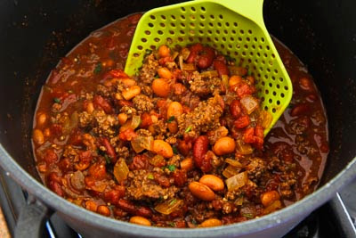 Easy Taco Soup Recipe found on KalynsKitchen.com