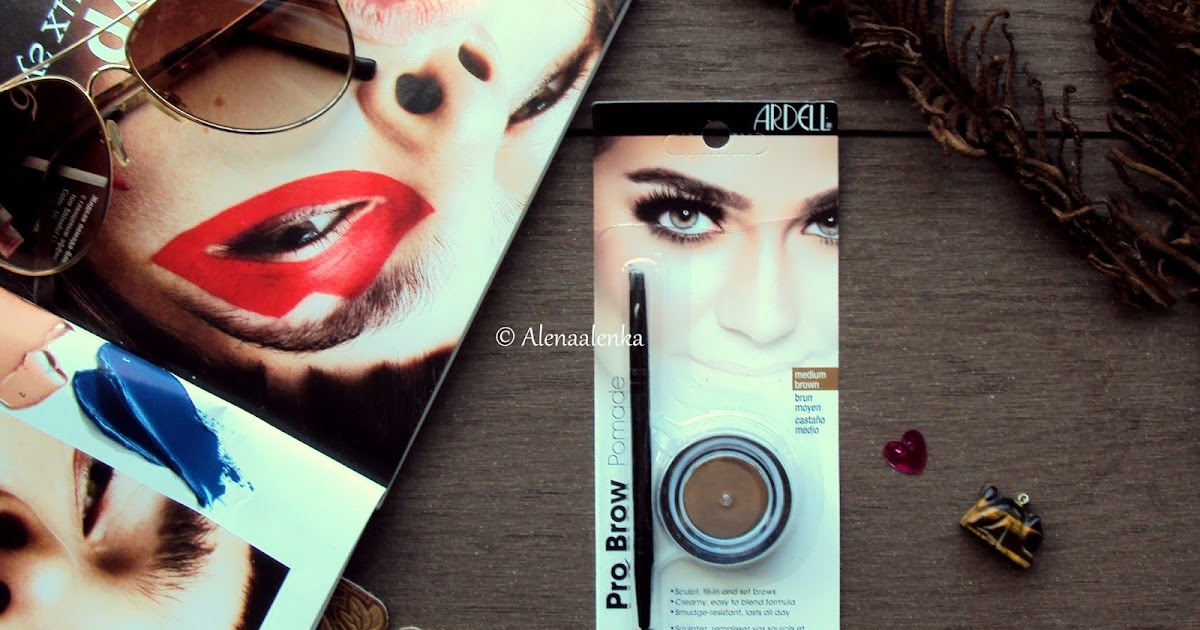 Ardell Pro Brow Pomade. Medium Brown. Reviews  Влагостойкая ...