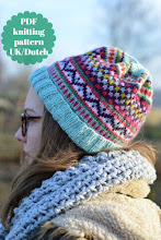 Patroon muts/pattern hat