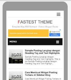 Fastest Theme - Template SEO