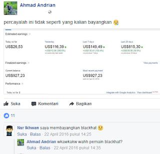 orang sombong baru ngerasain earning