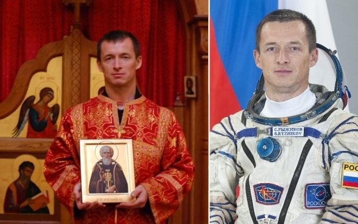 Сергей Рыжиков, командир Союз МС 17