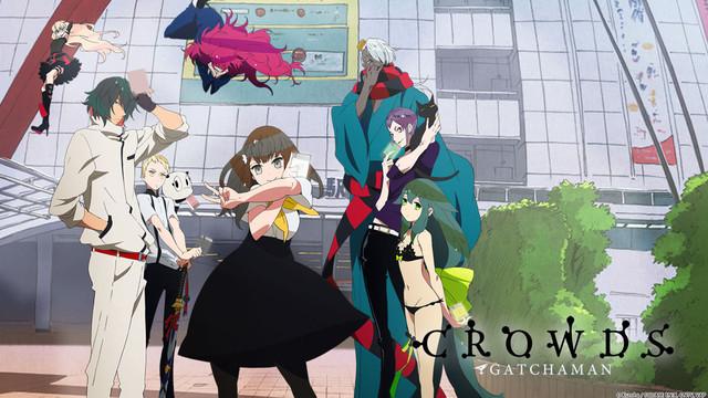 Gatchaman Crowds Anime Superhero