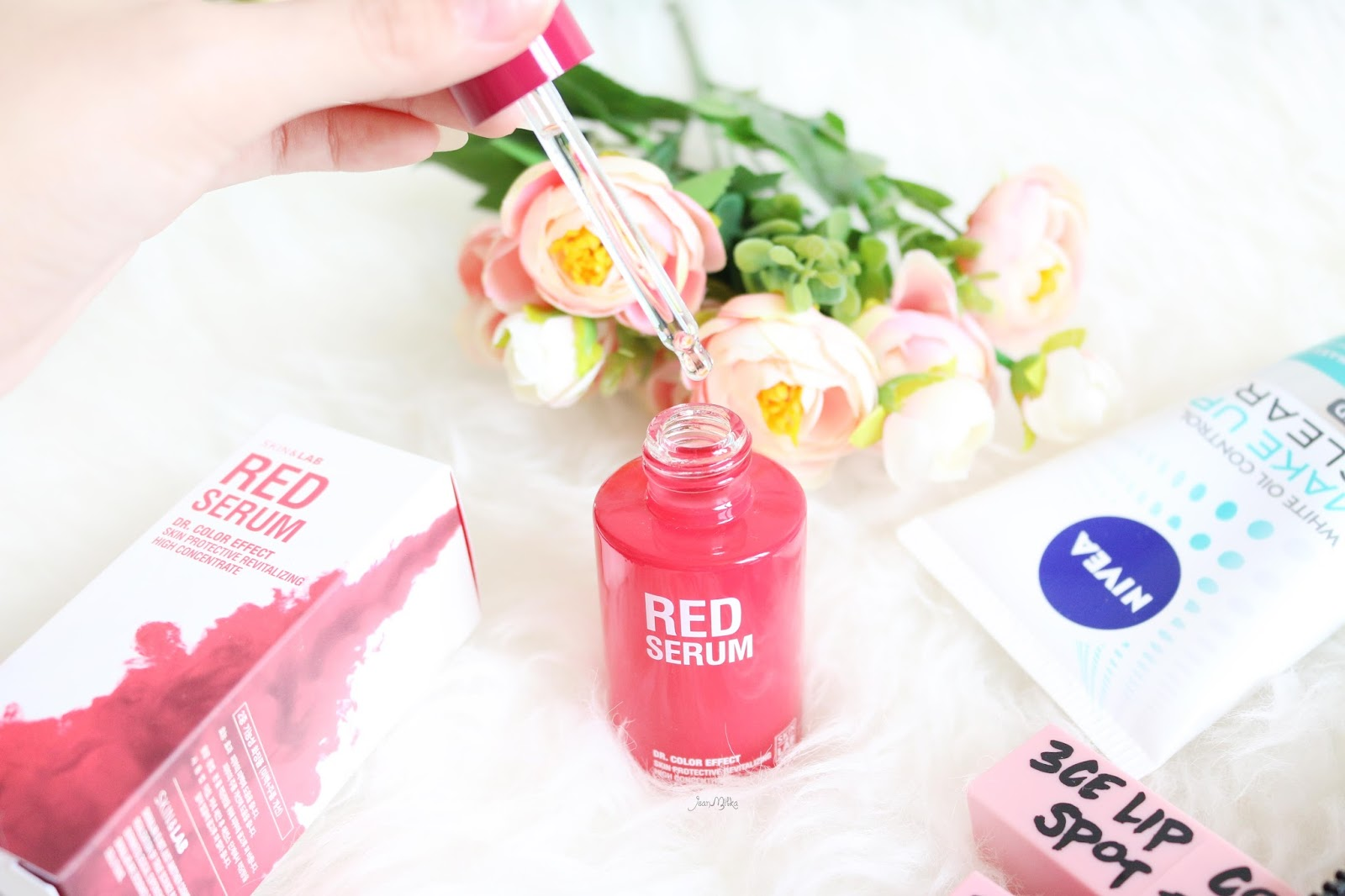 skin&lab, skin & lab, red serum, skin & lab red serum, skincare, skincare korea, serum, skincare serum, serum korea, red serum, review red serum, korean skincare