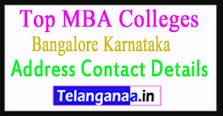 Top MBA Colleges in Bangalore Karnataka