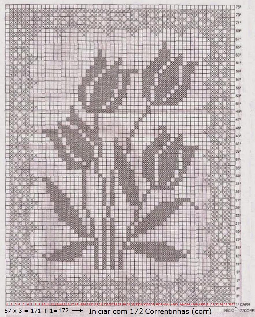 Graficos De Tapetes De Croche Redondo Mediabix Com Inspira O De