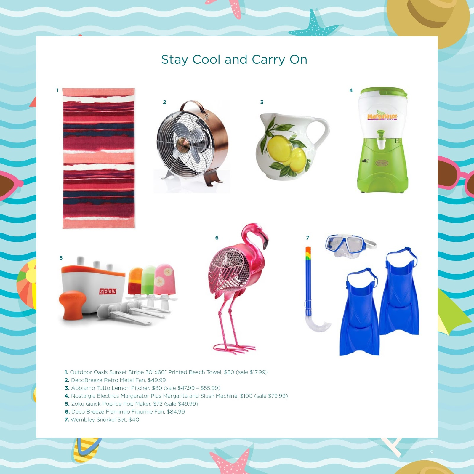 Brighten Up Your Summer with Home Essentials from JCPenney  via  www.productreviewmom.com