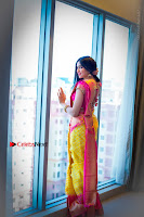 Actress Adah Sharma Exclusive Poshoot in Beautiful Yellow Silk Saree at Saree Niketan Showroom Launch  0006.jpg