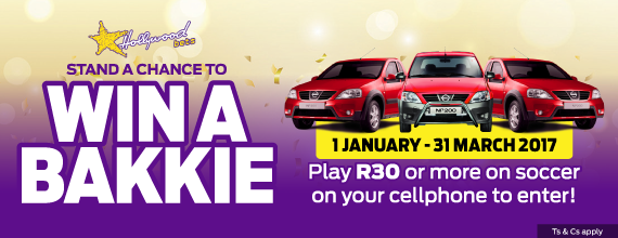 Hollywoodbets-Win-A-Bakkie-Promo