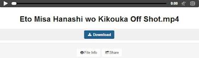 Eto Misa Hanashi wo Kikouka Off Shot