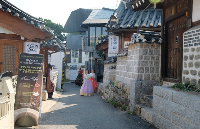 a photo of Aromind and Bukchon Hanok Village