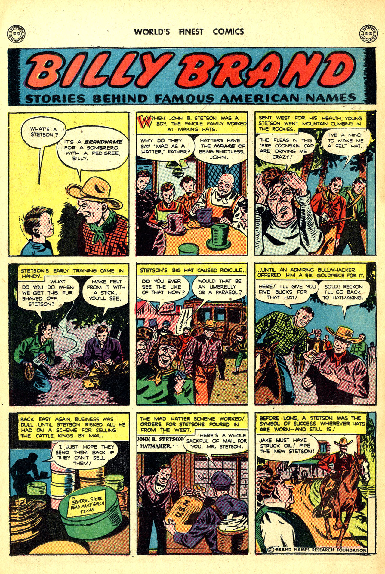 Read online World's Finest Comics comic -  Issue #18 - 68