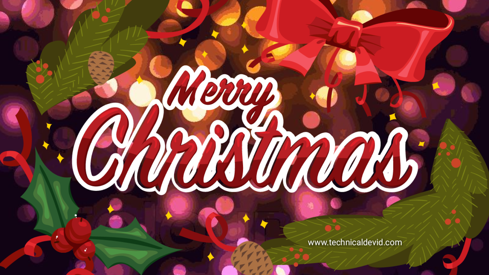 Christmas image 2018 | Happy Christmas day 2018 images - Technical devid