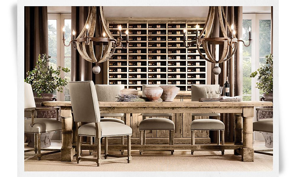 Boiserie c annuntio vobis gaudium magnum habemus una sala da pranzo - Ikea mobili sala da pranzo ...