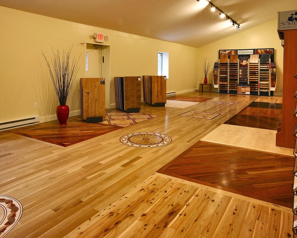 desain lantai kayu modern