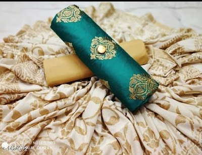 Attractive Jam Cotton Suits & Dress Materials Vol 1