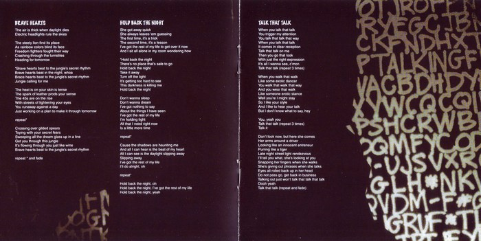 GLEN BURTNICK - Talking In Code [YesterRock remaster] booklet
