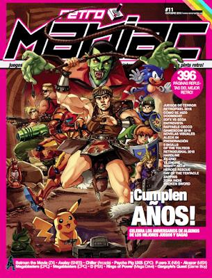 Descarga RetroManiac nº11. Revista gratis PDF