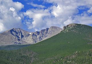 Mt. Meeker, Longs Peak and the Loft