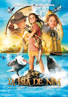 Nim's Island 2008 DVD R1 NTSC Latino