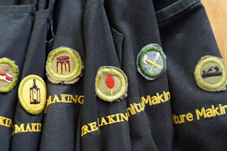 Image of Aprons with Boy's Brigade Badges